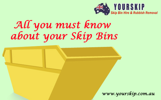 All you must know about your Skip Bins