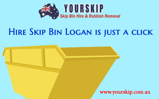Hire Skip Bin Logan is just a click