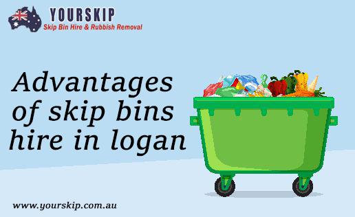Advantages of skip bins hire in Logan