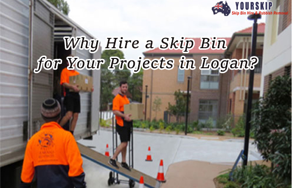 Why Hire a Skip Bin for Your Projects in Logan?